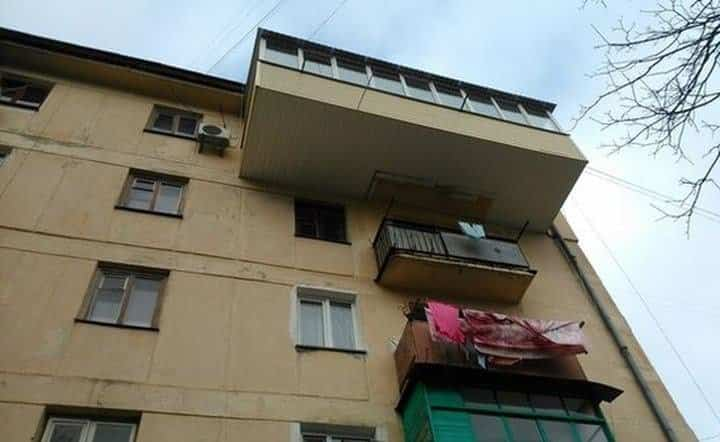 balcones diseñados en Rusia gigantes