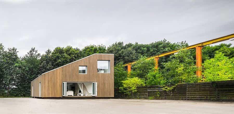 casa minimalista contenedores de transporte 1