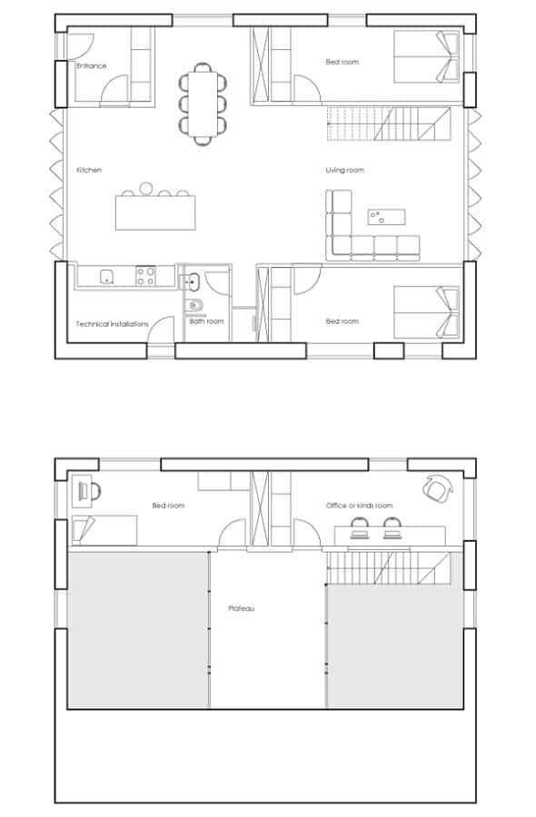 casa minimalista contenedores de transporte 11