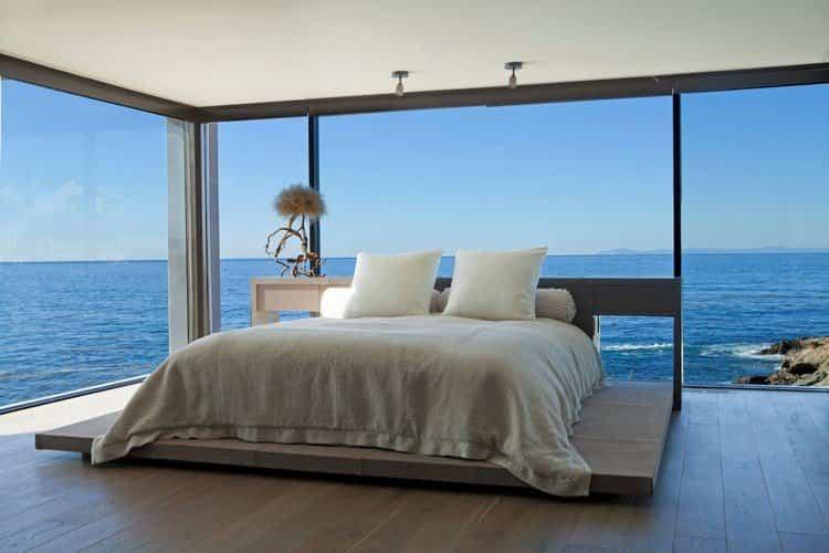 ideas para decorar tu hogar - dormitorio con vistas únicas