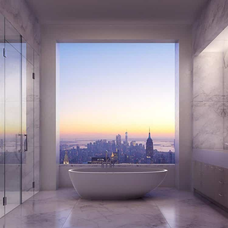 ideas para decorar tu hogar - baño minimalista