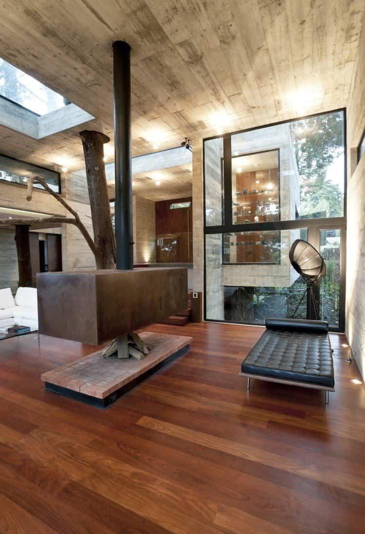 ideas para decorar tu hogar - árboles interiores