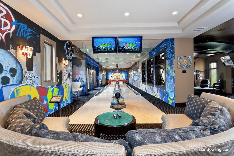 ideas para decorar tu hogar - bolera propia