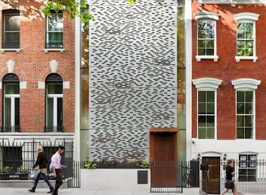fachadas de edificos Urban Townhouse
