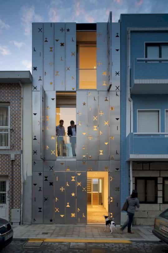 fachadas de edificios house 77