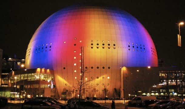 esfera más alta del mundo