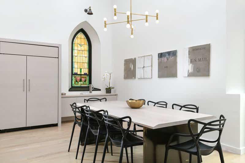 cocina de iglesia reformada