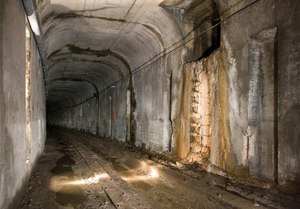 túnel perteneciente a la red de metro de Cincinnati