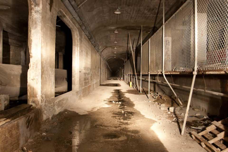 Filtraciones de agua en el metro de cincinatti
