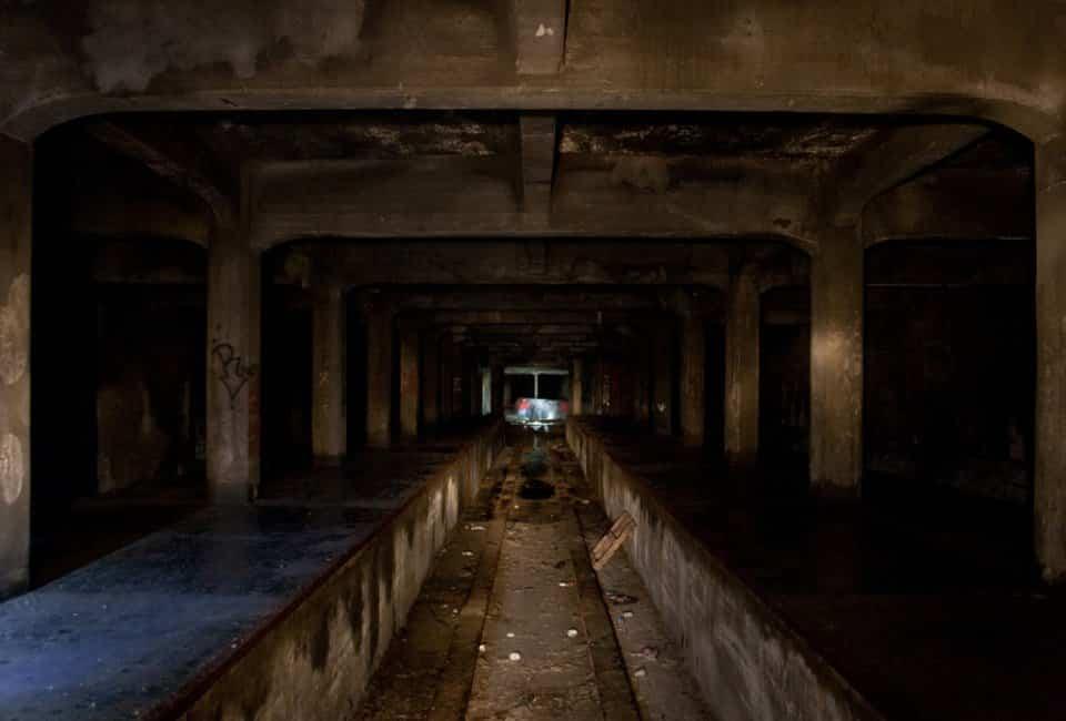 Andenes en el metro de Cincinnati
