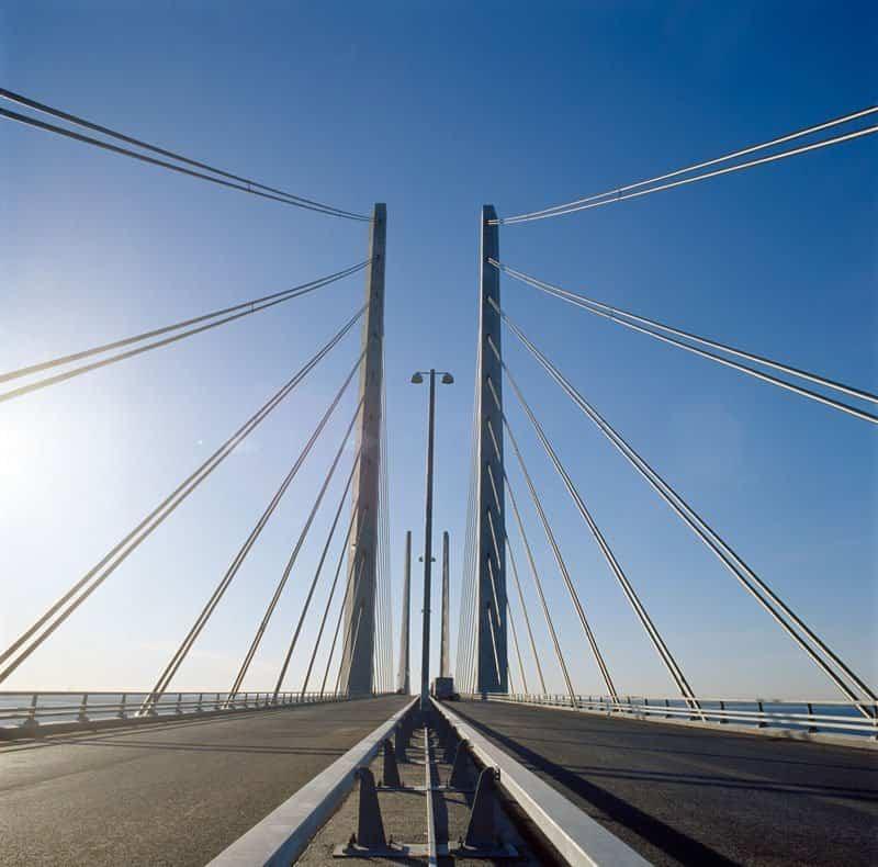 puente que une dinamarca con suecia