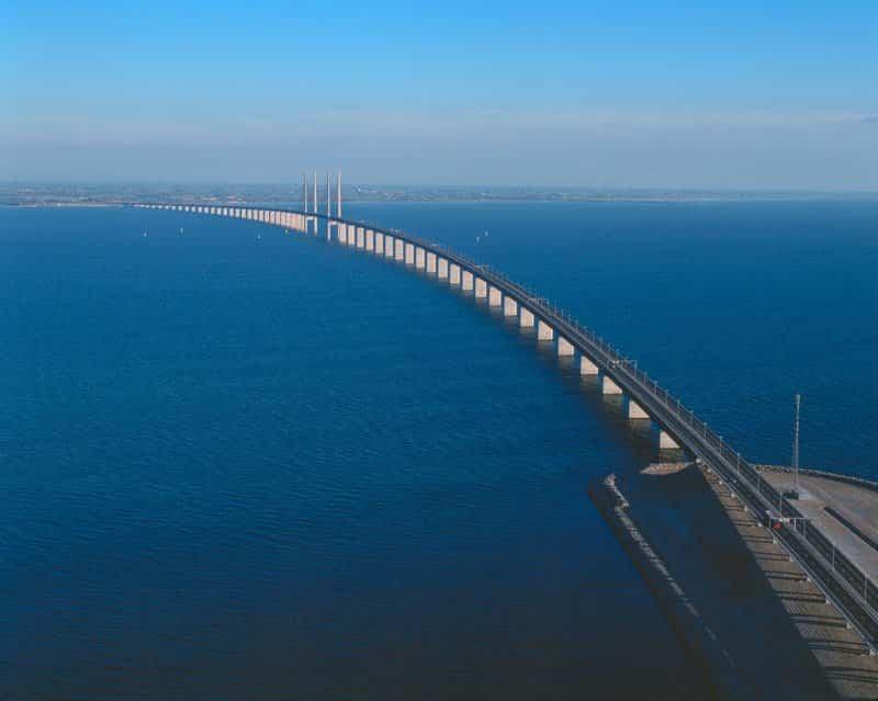 Puente Øresund en todo su explendor