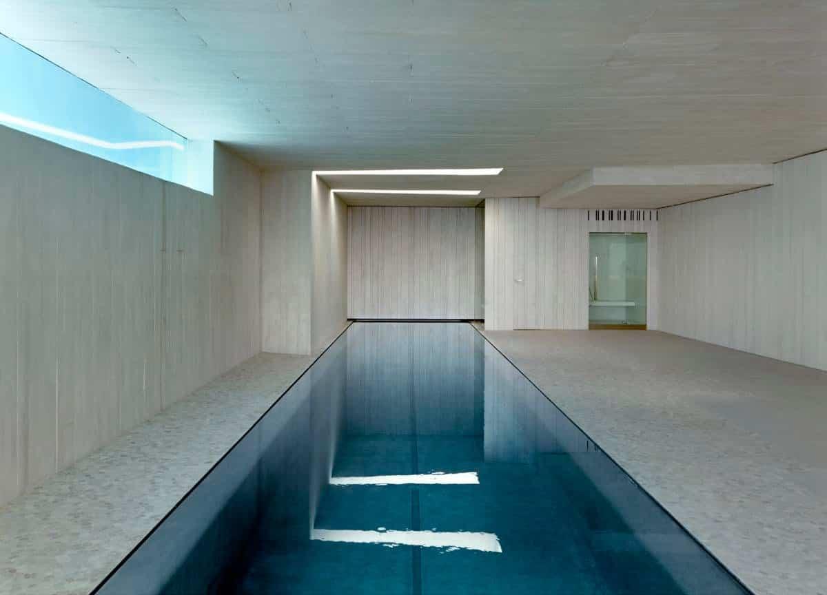 Casa Sardinera piscina interior