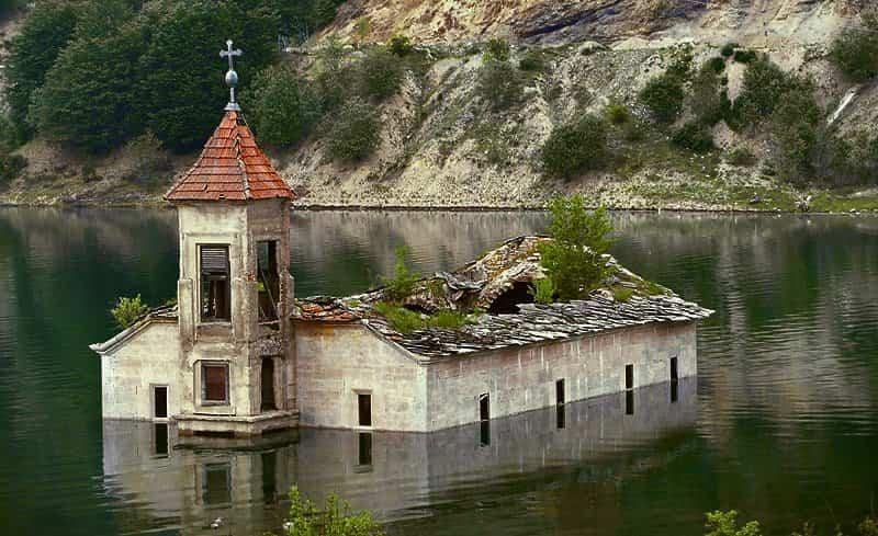 Los lugares abandonados más bellos - Iglesia de San Nicolás