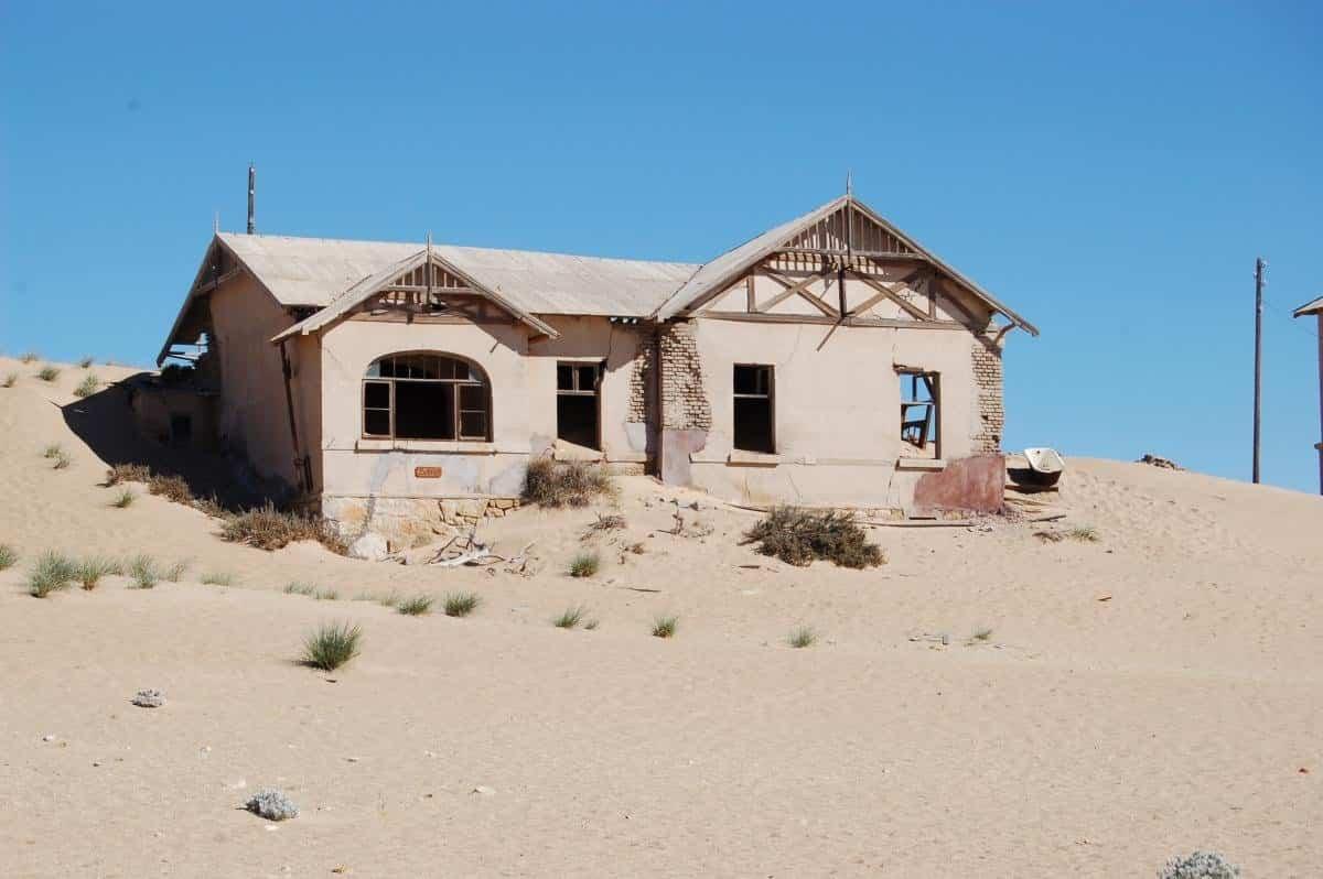Los lugares abandonados más bellos - Namibia