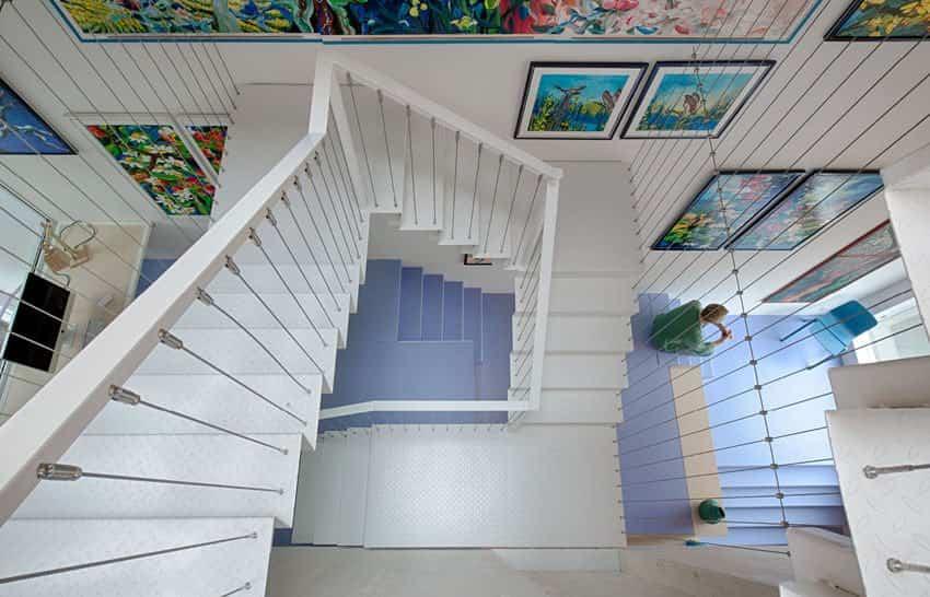 Casa de Marc Koehler vista desde la escalera