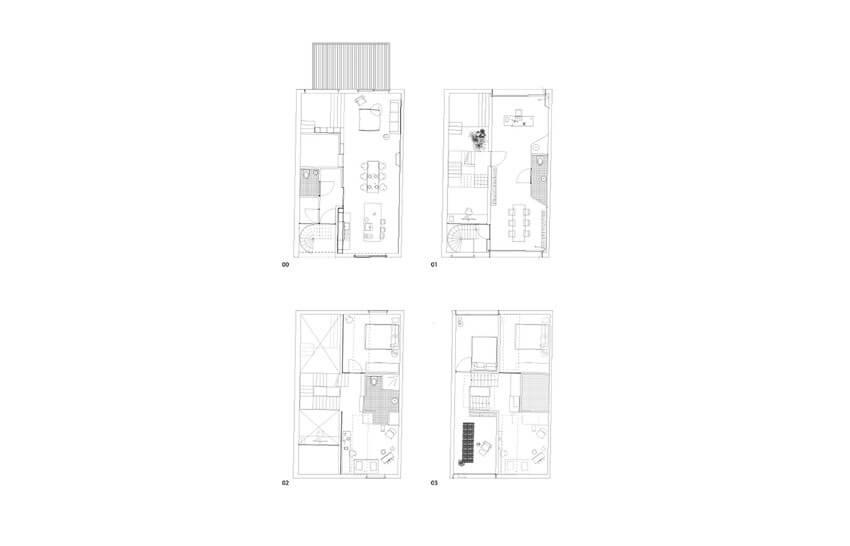 Planos de la casa de Marc Koehler