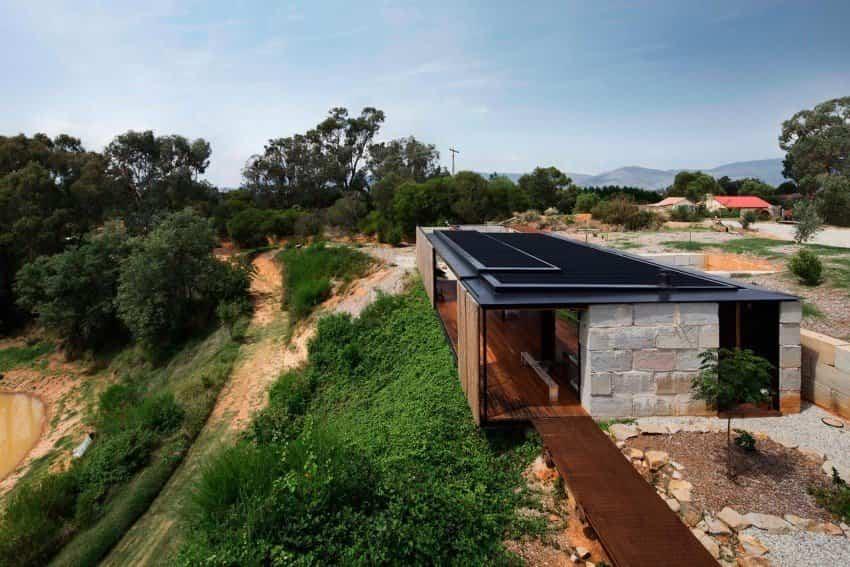 Bloques de hormigón reciclados para construir