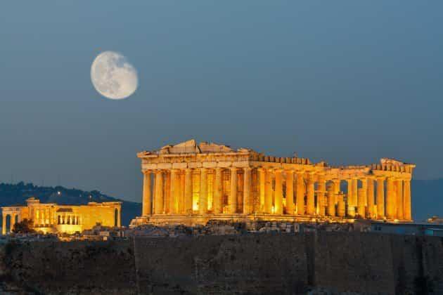 monumentos históricos - acropolis de atenas