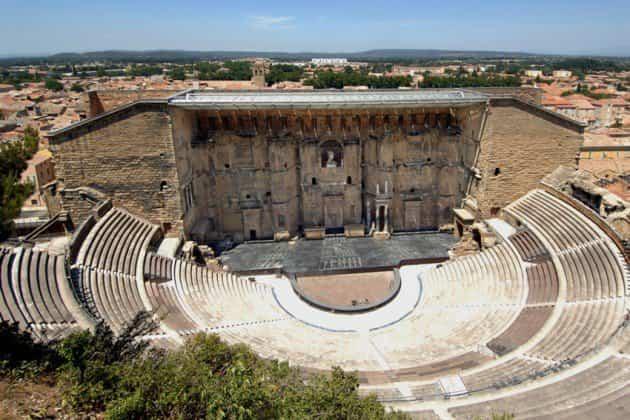 Monumentos históricos - teatro de Orange