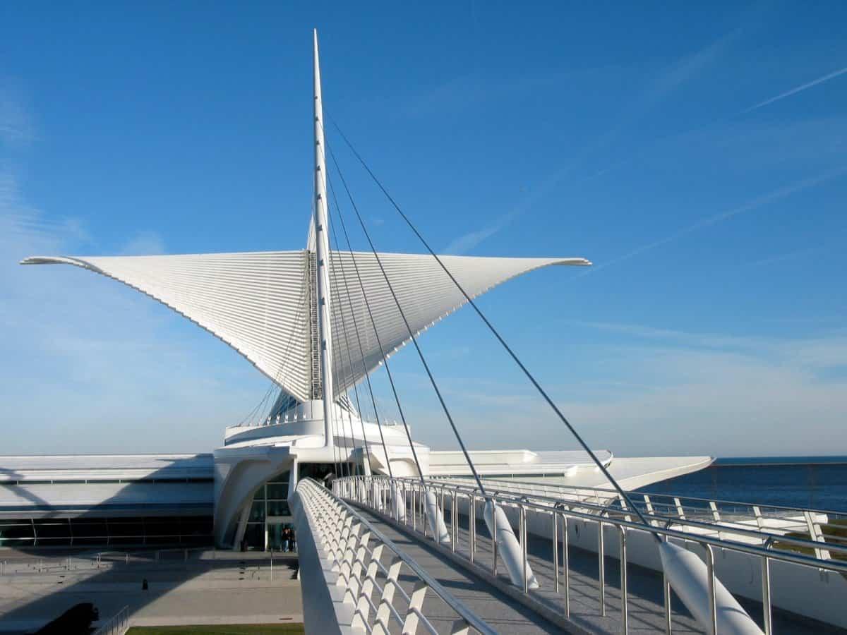 arquitectura poco convencional - Quadracci Pavilion