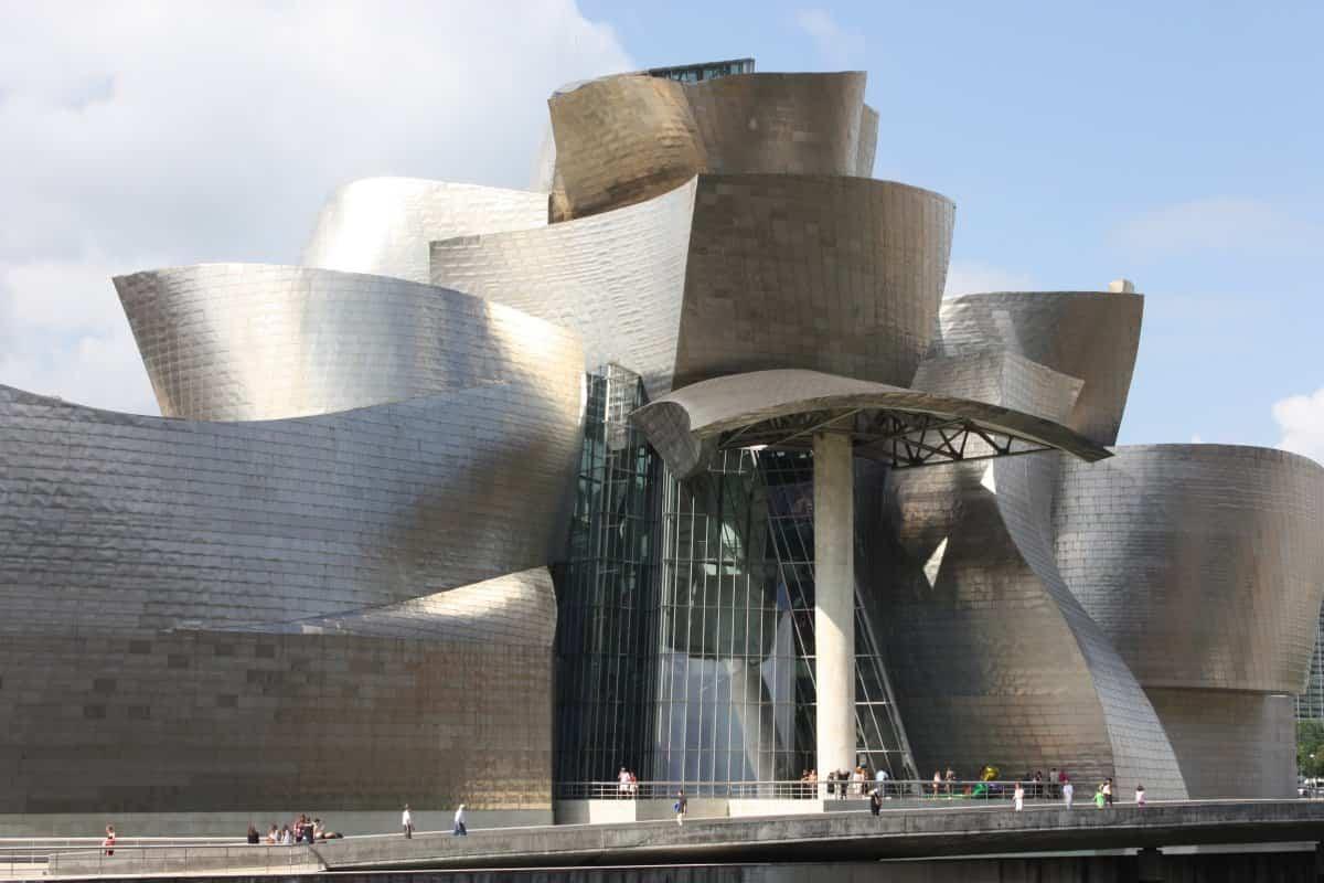arquitectura poco convencional - museo Guggenheim