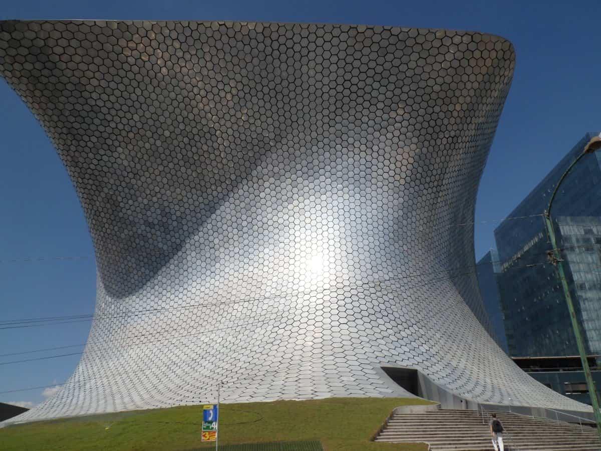 arquitectura poco convencional - museo Soumaya