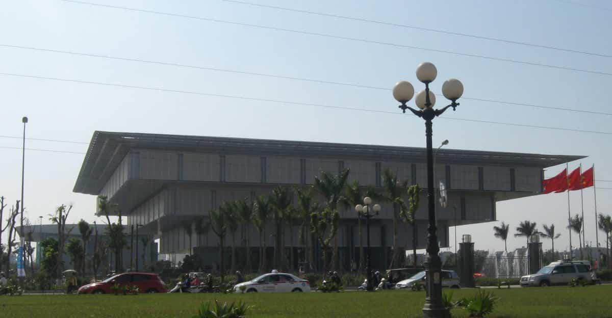 arquitectura poco convencional - museo hanoi