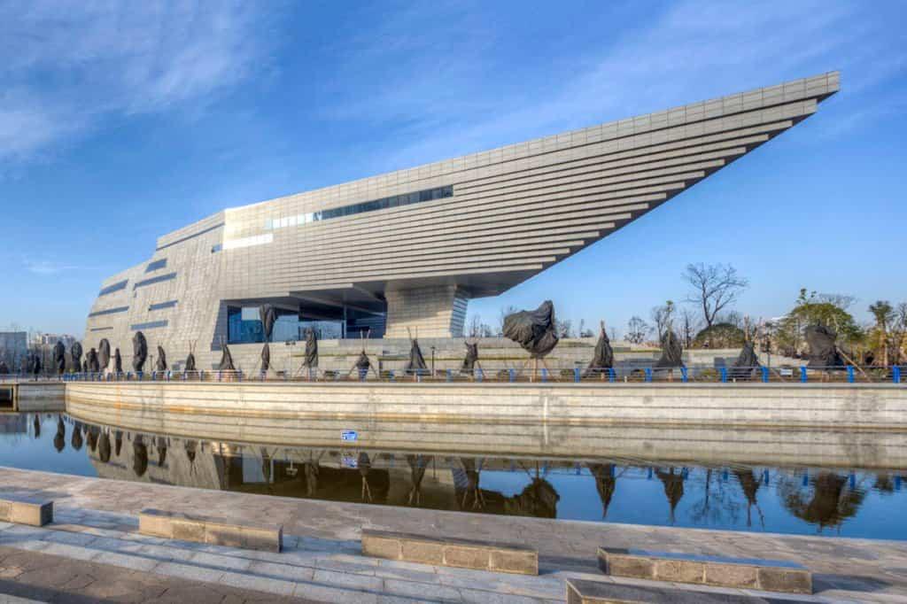 arquitectura poco convencional - museo historia Quijing