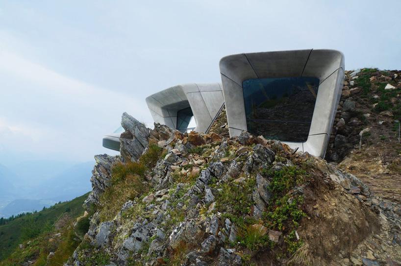 arquitectura poco convencional - museo montaña messner