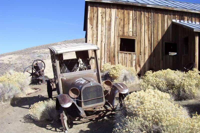 Los lugares abandonados más bellos - Distrito Berlin en Nevada