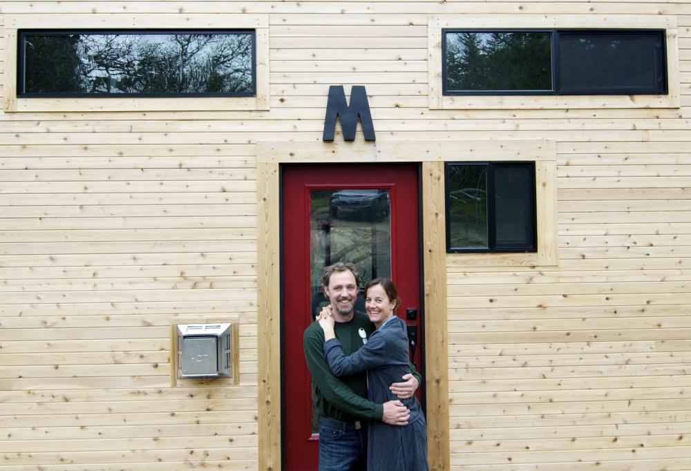 casa de sus sueños Andrew y Gabriela Morrison