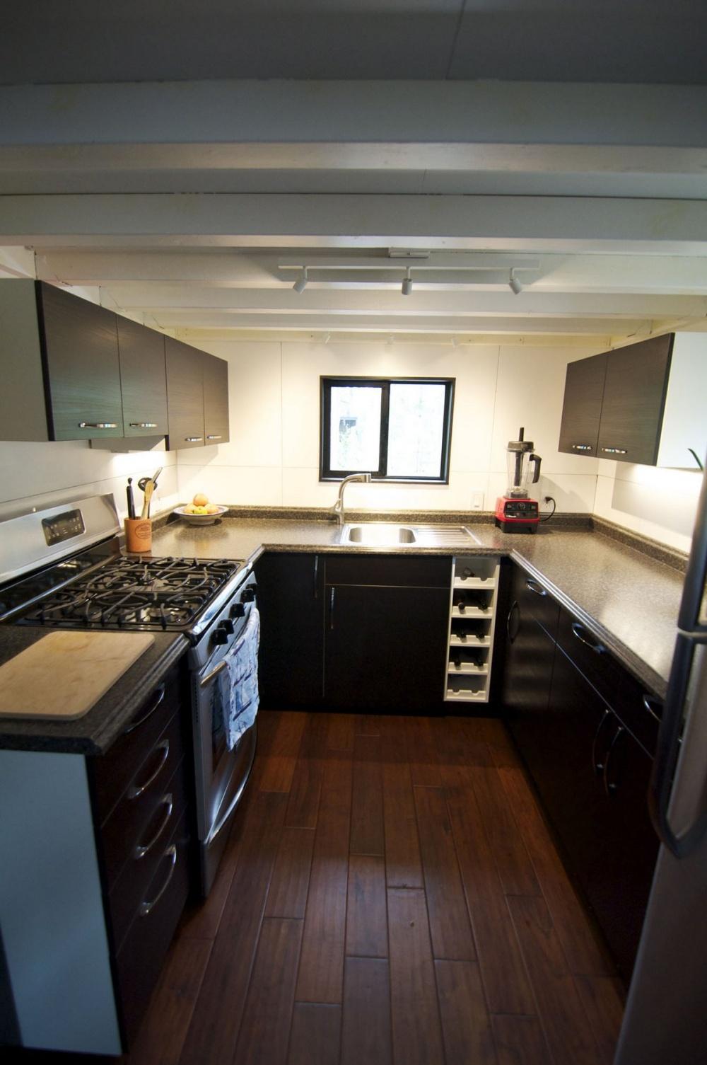 casa de sus sueños Andrew y Gabriela Morrison - cocina