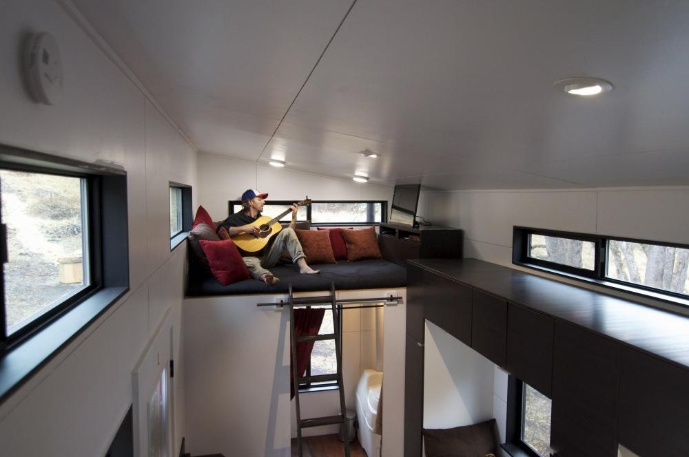casa de sus sueños Andrew y Gabriela Morrison - sala de estar