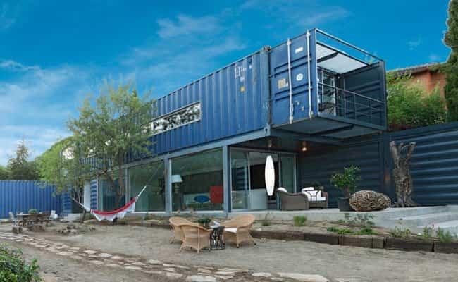 Casas fabricadas con contenedores reciclados - Casas contenedores espana ...