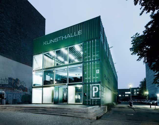 Contenedores reciclados - Kunsthalle