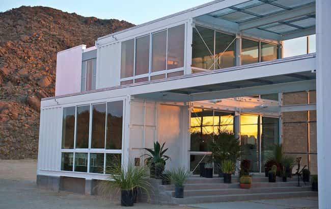 Contenedores reciclados - Hybrid House