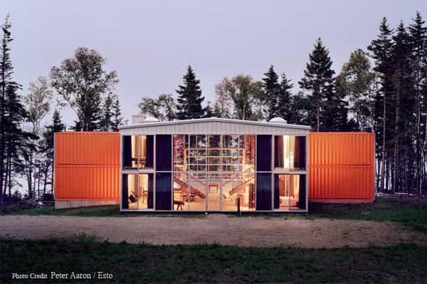Contenedores reciclados - Casa de los 12 contenedores