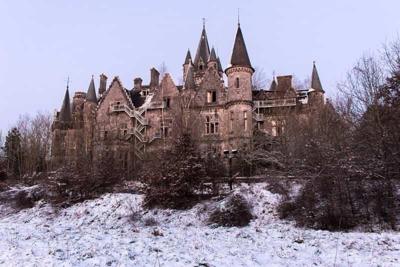 Los lugares abandonados más bellos - Castillo Miranda
