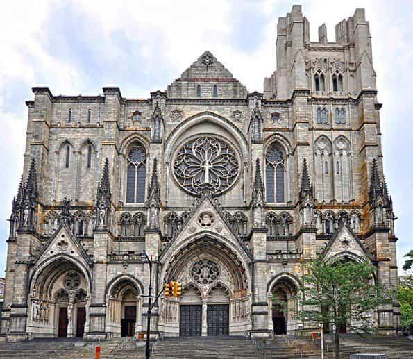 monumentos históricos - catedral de saint john el divino