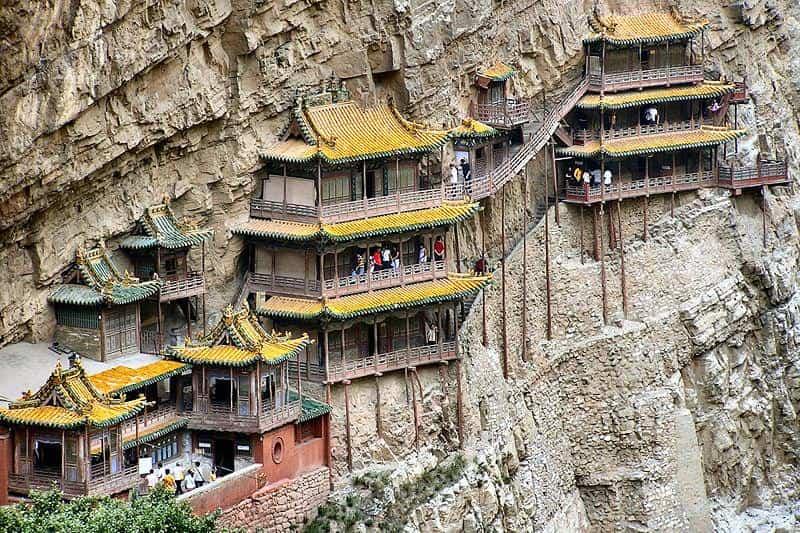 Edificios increíbles - Monasterio Hanging