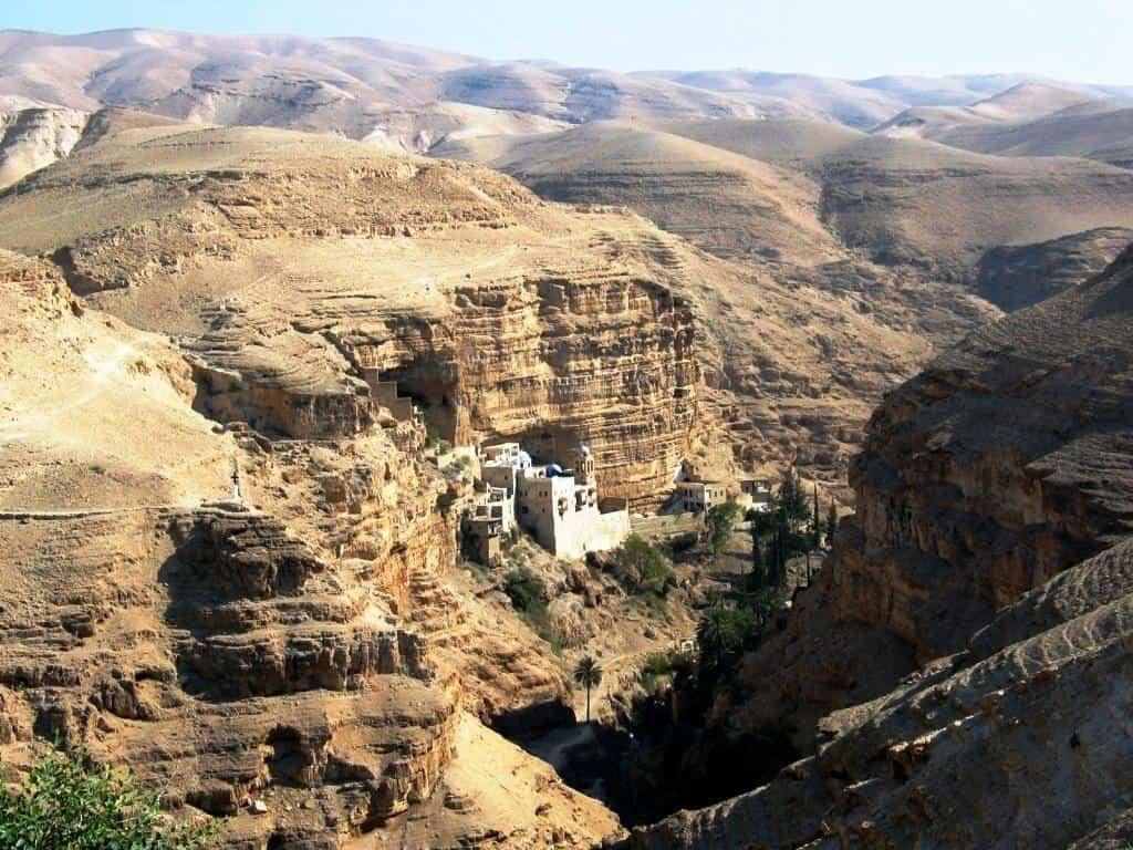 Edificios increíbles - Monasterio Wadi