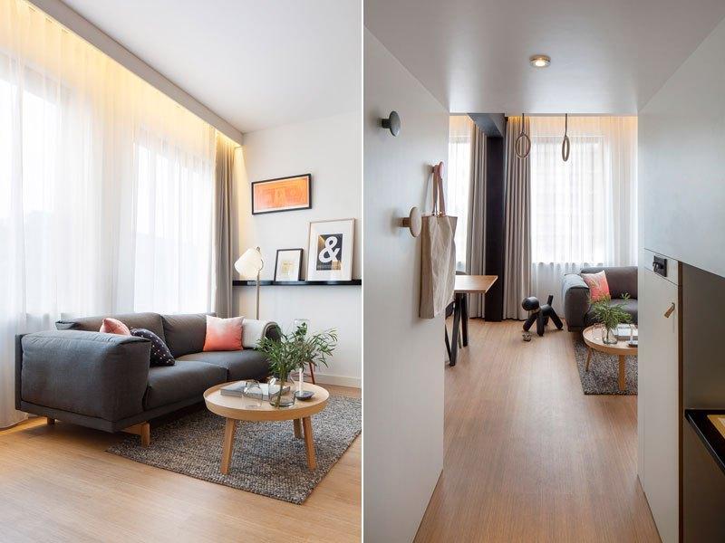 Loft en un hotel amplio para estancias largas