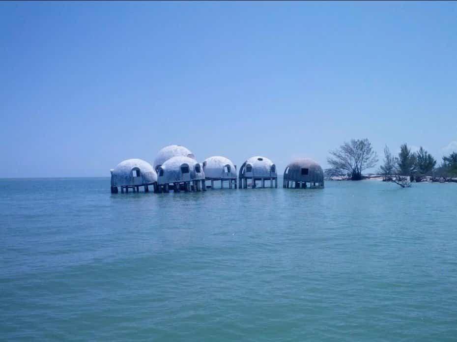 Los lugares abandonados más bellos - Casas Dome Florida