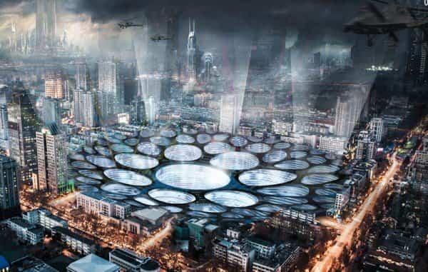 futuro de la arquitectura - Crater Scraper