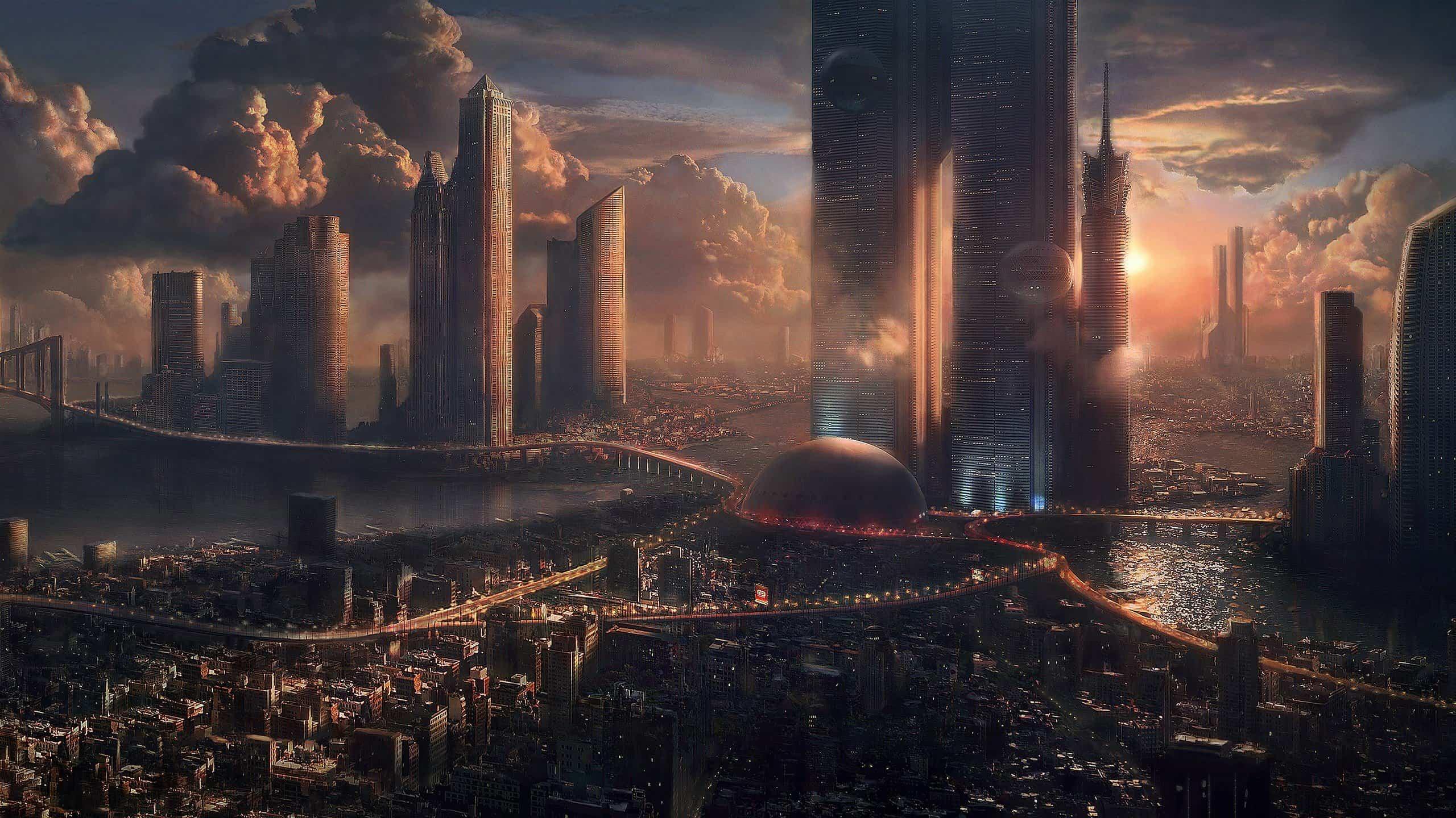 futuro de la arquitectura - Future City