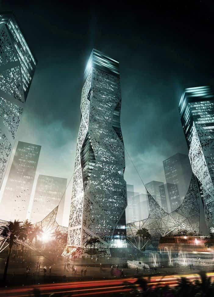 futuro de la arquitectura - Torre AP002T