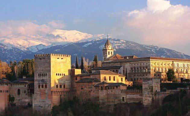 monumentos históricos - la alhambra