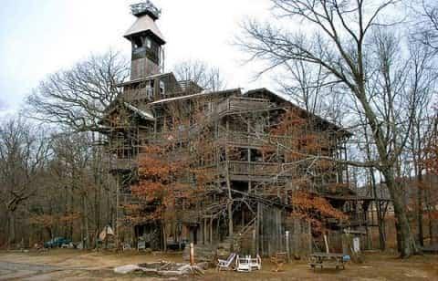 la casa del árbol mas grande del mundo