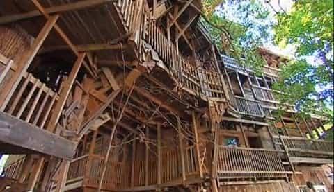 Casa del árbol de Crosville